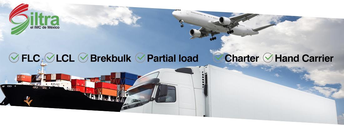 siltra fletes maritimos fletes aereos logistica intermodal transporte comercio mexico usa