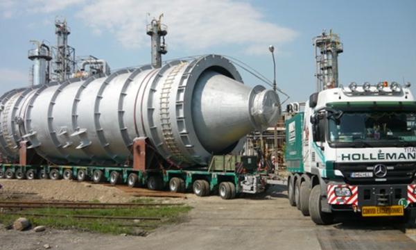 Carga sobre dimensionada siltra transporte intermodal logistica